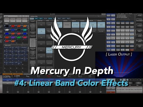 X-Laser Mercury In Depth: Linear Band Color Effects
