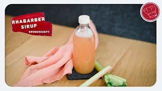 Rhabarber-Sirup, Grundrezept, schnell und einfach,Thermomix-Rezept | elegant-kochen.de