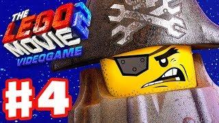 The LEGO Movie 2 Videogame - Gameplay Walkthrough Part 4 - Harmony City! MetalBeard!