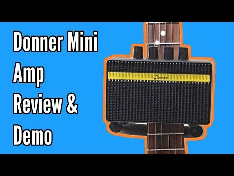 Donner Mini Amp Review And Demo