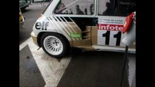 Bruit moteur Renault 5 maxi turbo