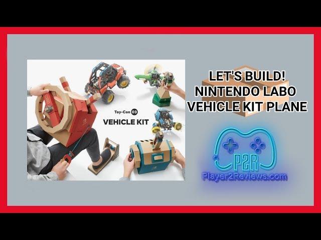 Let's Create! Nintendo Labo Part 2 Vehicle Kit Plane