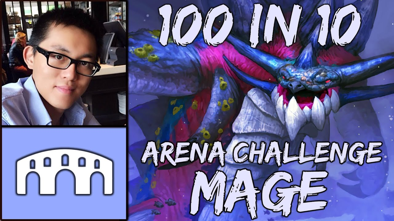 Hearthstone 100 In 10 Arena Challenge Run 3 Mage Part 4 Druid Envy