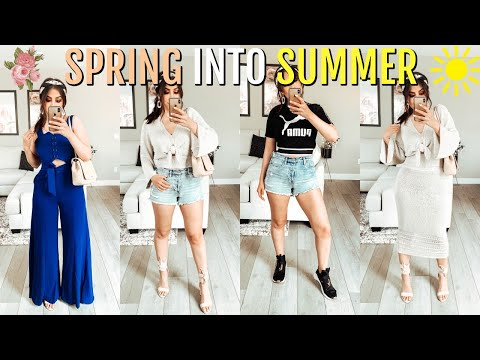 SPRING INTO SUMMER FASHION TRY ON HAUL 2019