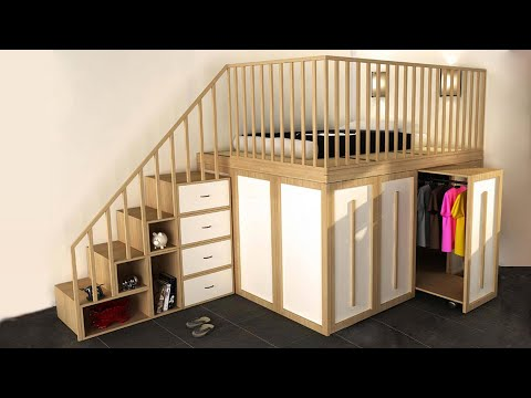 Great Space Saving Ideas - Smart Furnitures ►3