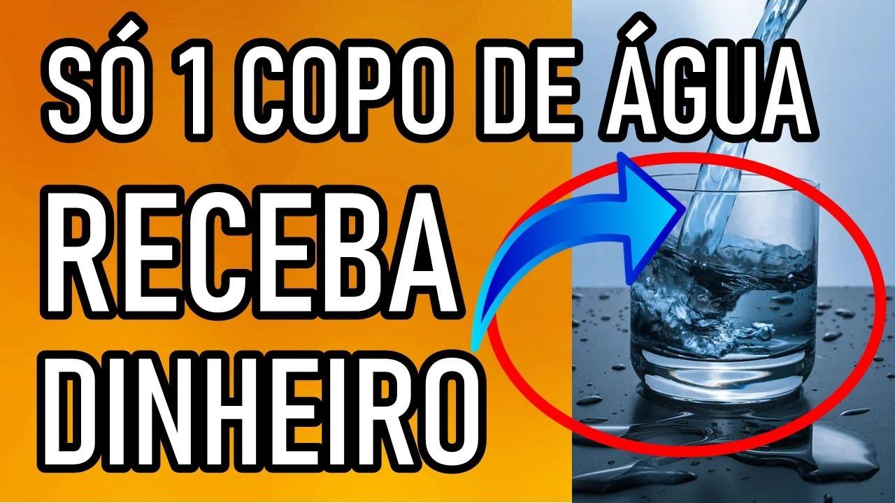 TÉCNICA DO COPO COM ÁGUA RECEBA MUITO DINHEIRO ATRAIA QUALQUER COISA - ORAÇÃO
