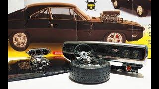 форсаж Dodge Charger R/T масштаб 1:8 модель от деагостини. Распаковка и обзор.Про машинки
