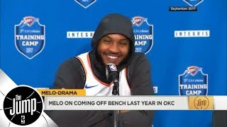 Will Carmelo Anthony be cool with coming off bench for Houston Rockets? | The Jump | ESPN