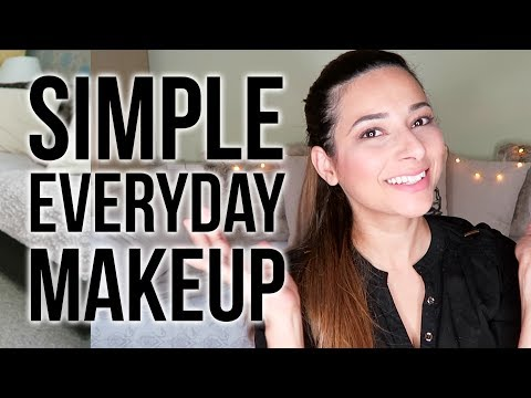 QUICK EVERYDAY MAKEUP TUTORIAL FOR WORK - 5 Minute Makeup  Ysis Lorenna