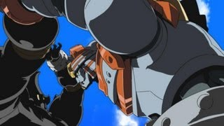 GR-1を嗅ぎ付けた謎の組織「GRO」により巨大ロボットGR-2が「UNISOM」に...