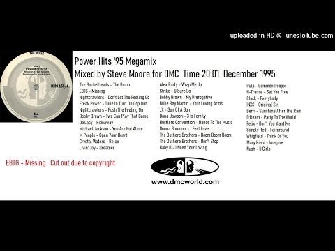 Power Hits '95 Megamix (DMC Mix by Steve Moore Dec 1995)