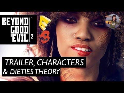 Beyond Good And Evil 2 | E3 Trailer, Characters & Deities Fan Theory | E32017 Favorite