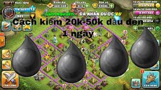 Cách kiếm 20k-50k dầu đen 1 ngày/ thời loạn Mobile/ mạnh gaming 120