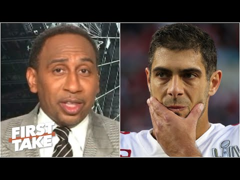 Stephen A. isn't buying that Jimmy Garoppolo is ready to be an elite QB | First Take