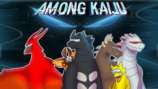 AMONG KAIJU DUBBED | Godzilla in Among Us Animation by Dinomania