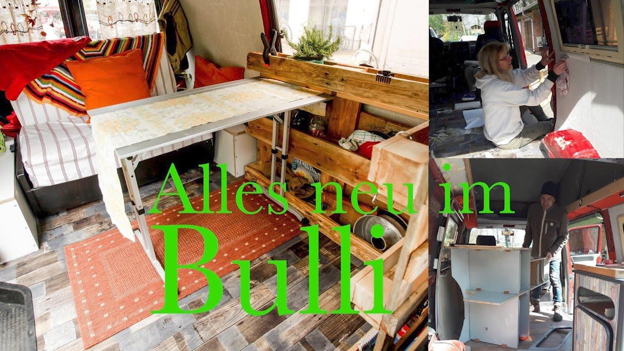 bulli vw t4 umbau youtube. Black Bedroom Furniture Sets. Home Design Ideas