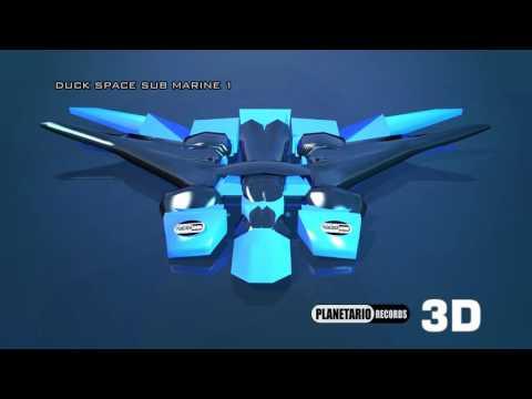 Duck Space Sub Marine Planetario Records 3D