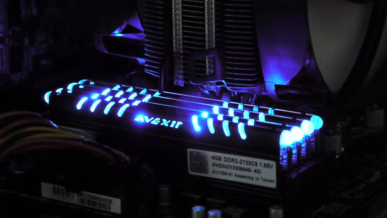 AVEXIR Core Series 2133MHz Quad Channel & AVEXIR Core Series 2133MHz Quad Channel - YouTube