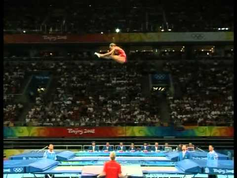 Karen Cockburn (CAN), Final Routine (2nd), Beijing Olympics 2008