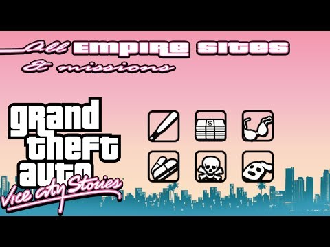 Grand Theft Auto: Vice City Stories | All Empire Sites & Empire Missions (100% Playthrough)