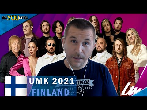 FINLAND: Uuden Musiikin Kilpailu 2020  | UMK REACTION & Top 7 (Eurovision 2021)
