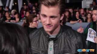 Luke Benward Talks Olivia Holt, Girl Vs Monster & See Dad Run - Breaking Dawn Part 2 Premiere