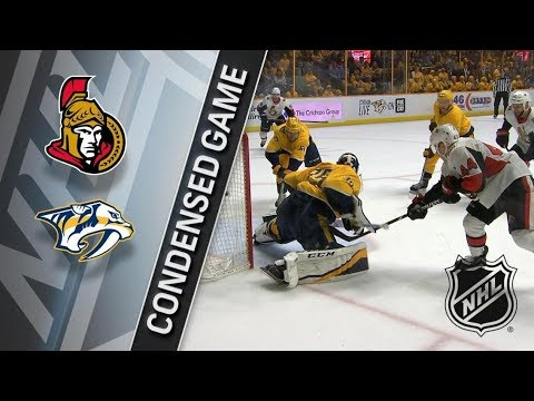 Ottawa Senators vs Nashville Predators – Feb. 19, 2018 | Game Highlights | NHL 2017/18. Обзор