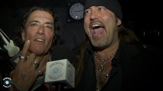 Stephen Pearcy (Ratt) and Danny Koker (Counting Cars) Behind the Scenes at the Vegas Rock Awards