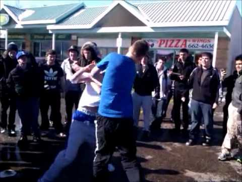 Orchard Park Fight, with K.O.