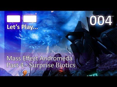 Mass Effect: Andromeda Let's Play pt004 - Surprise Biotics [4K 60FPS]