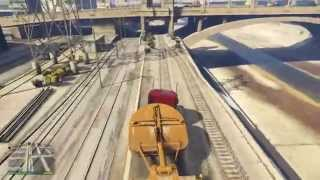 Gta V - Driller Mission EASIEST WAY FOR GOLD- Grand Theft Auto 5
