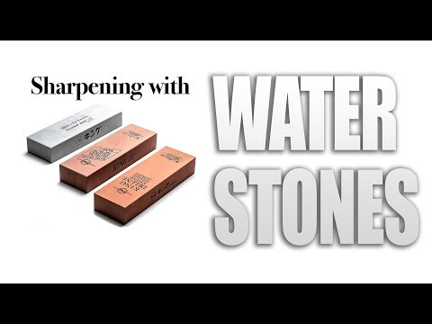 Sharpening with King Waterstones