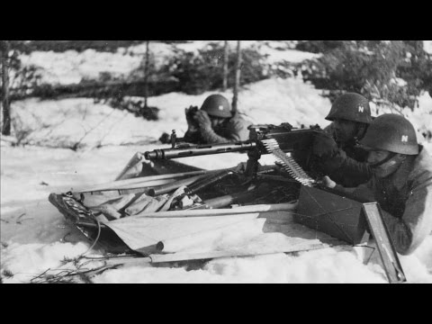 The Norwegian army in Sweden during World War II - documentary