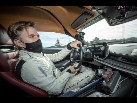 Nick Heidfeld tests Battista prototype as hyper GT development accelerates