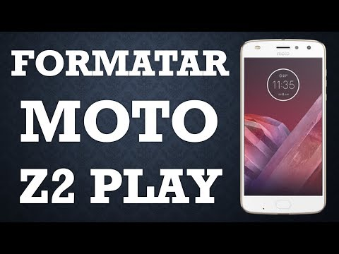 Como formatar Motorola Moto Z2 Play (Hard Reset)