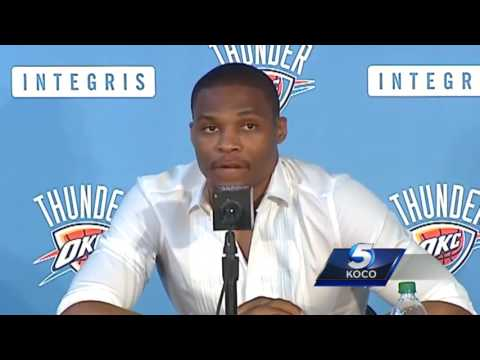 Russell Westbrook addresses decision to extend contract with Thunder