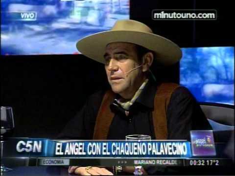 C5N - EL CHAQUEÑO PALAVECINO CON EL ANGEL DE LA MEDIANOCHE