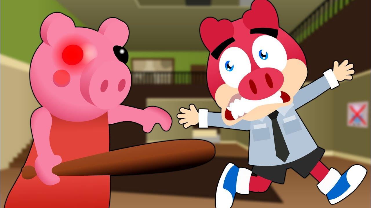 Flonk em Roblox Piggy - Turma Mirim