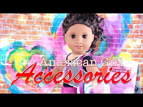Unbox Daily:  American Girl Gabriela - Girl of the Year (GOTY) - Accessories - Doll Review - 4K