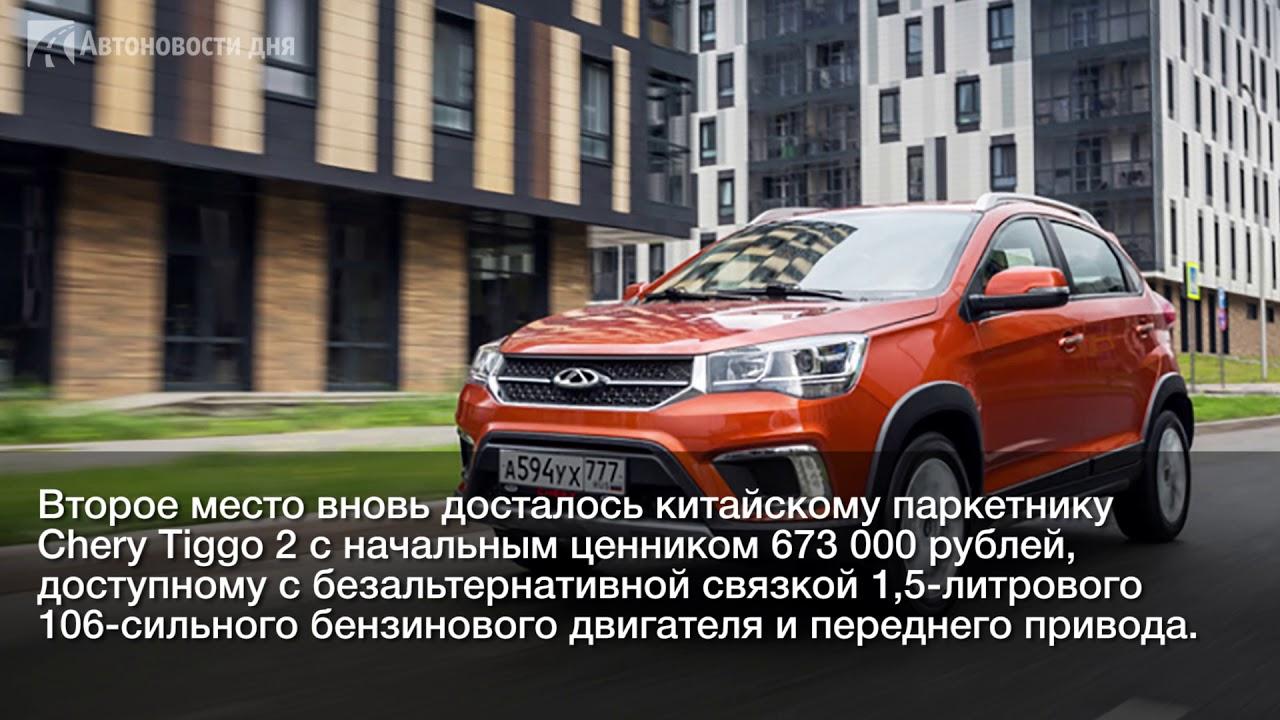 Составлен топ-5 самых дешевых кроссоверов в России к концу 2019 года