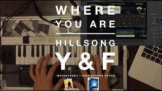 Where You Are - Hillsong Young & Free Mainstage Patch Keyboard Demo
