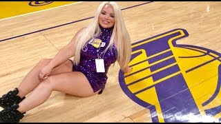 LAKER GIRL FOR A DAY!