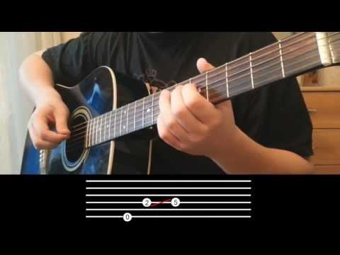 Metro: Last Light Intro acoustic guitar with tabs