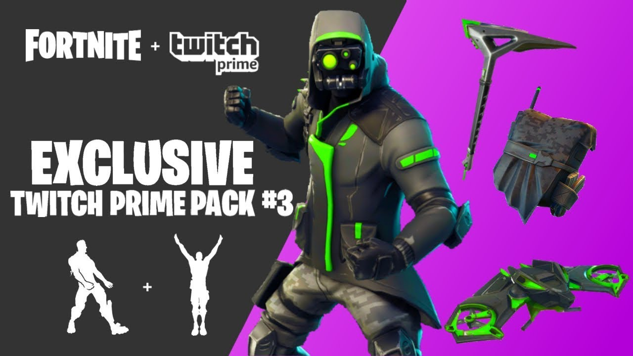 How To Get Free Twitch Prime Skins In Fortnite Battle -8896