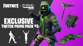 How To Get FREE TWITCH PRIME SKINS In Fortnite: Battle Royale! [TWITCH PRIME PACK #3] *NEW*