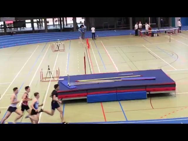 Louis Low-Beer en or aux CS jeunesse à Macolin au 1000m (22-23 février 2020)