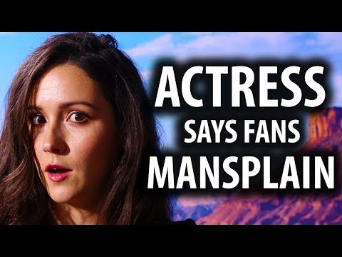 Westworld Actress Says  'Mansplain' To Her