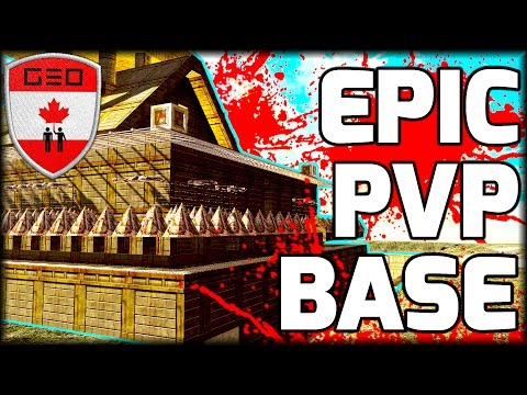 EPIC PVP Base Tour   BEST RAID PROOF DESIGN!?!? Day 879 (7 Days To Die)