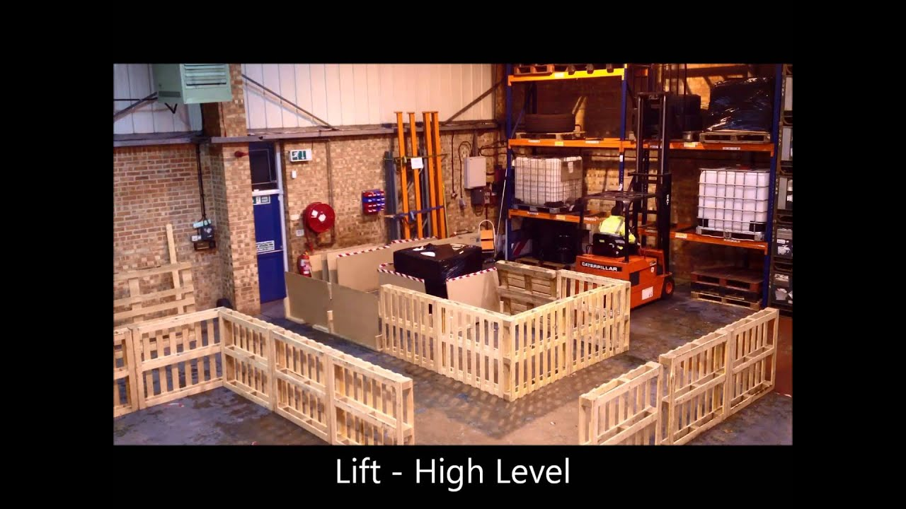 2 Start Training - Forklift Operators Test