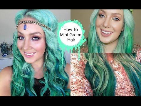 HOW TO- Mint Green Melt Hair!   Jade Madden
